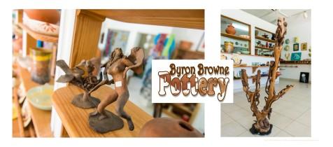 BYRON BROWNE POTTERY