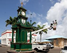 REPLICA OF BASSETERRE LANDMARK TO BE CONSTRUCTED IN GLASGOW