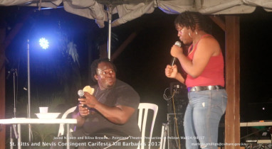 Embraced At Carifesta XIII Poinciana Theatre Productions