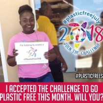 TAKE THE PLASTIC FREE CHALLENGE IN JULY 2018 AND BEYOND