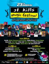 ST. KITTS MUSIC FESTIVAL 23 YEARS OF GREAT ENTERTAINMENT